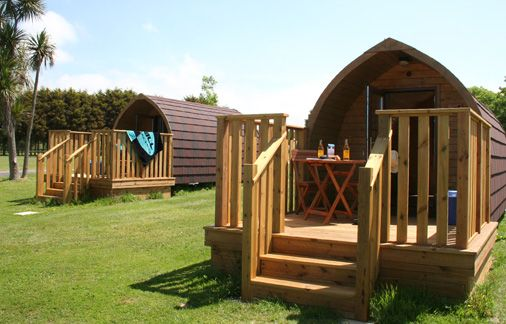 Luxury Log Pod Holidays