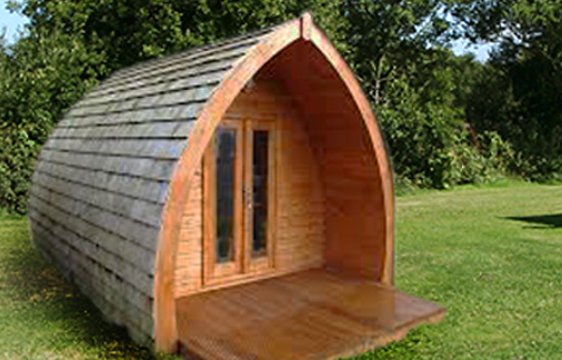 Glamping Pods - NEW For 2015!