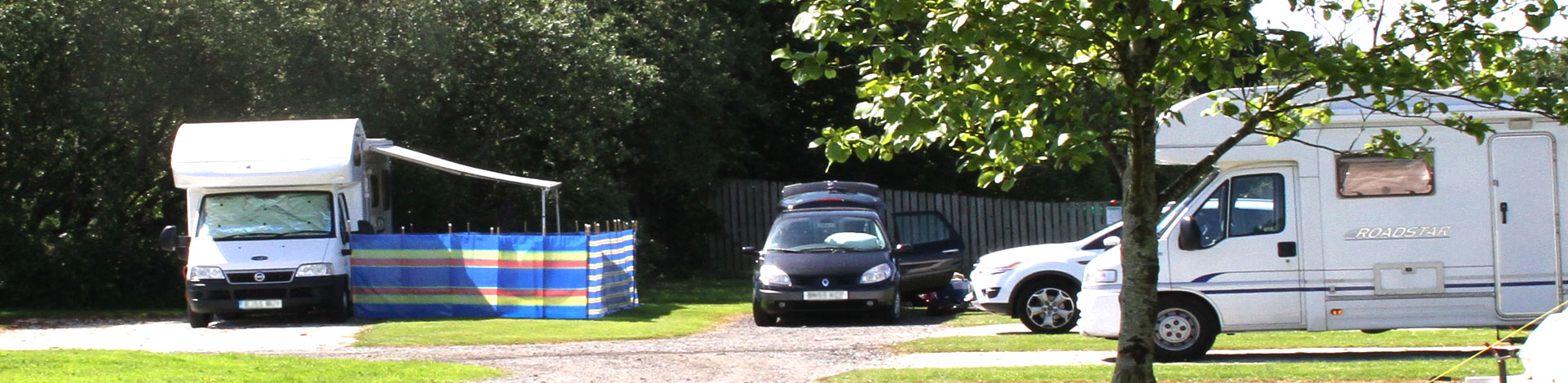 Holiday park for motorhomes