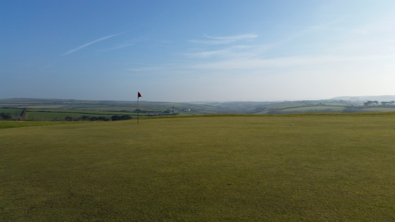 Merlin golf coarse in Cornwall