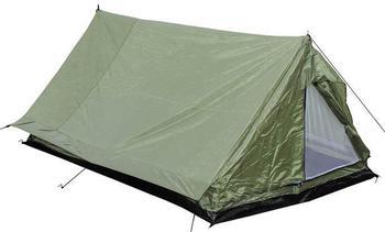 setting up a ridge tent